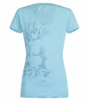 Montura Romance W T-shirt ice blue/bianco tričko