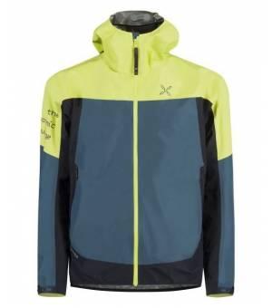 Montura Pac Mind M Jacket blu cenere/verde lime bunda