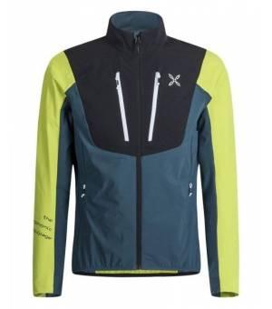 Montura Air Pro Tech M Jacket blu cenere/verde lime bunda