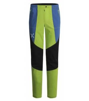 Montura Rocky M Pants verde acido/blu ottanio nohavice