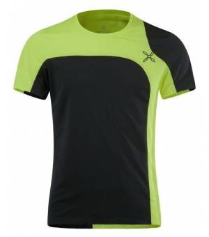 Montura Outdoor Style M T-Shirt nero/verde acido