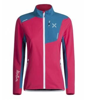 Montura Ski Style W Jacket rosa sugar/blu ottanio bunda