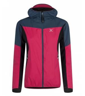 Montura Air Action Hybrid W Jacket rosa sugar/blu cenere bunda