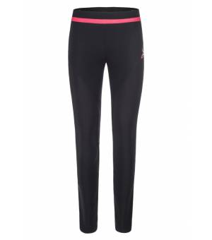 Montura Thermo Fit W Pants nero/rosa sugar nohavice