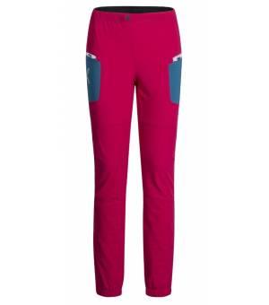 Montura Ski Style W Pants rosa sugar/blu ottanio nohavice
