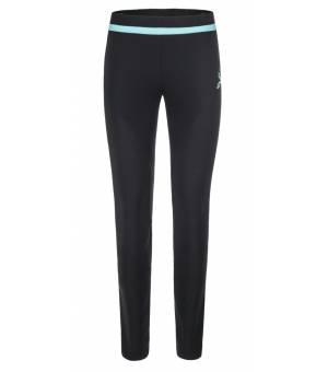 Montura Thermo Fit W Pants nero/ice blue nohavice