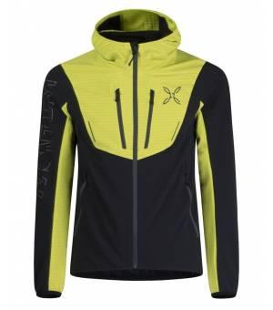 Montura Ski Style Hoody M Jacket antracite/verde lime bunda
