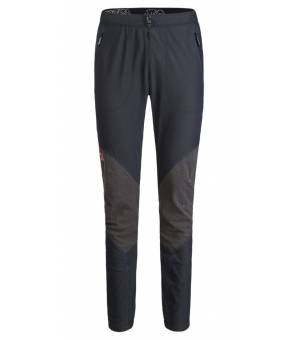 Montursa Vertigo M Pants nero/blu ottanio nohavice