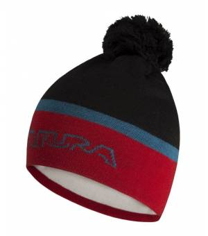 Montura Frost Cap nero/rosso čiapka