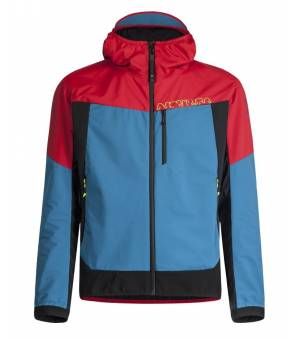 Montura Air Action Hybrid M Jacket rosso/blu ottantio bunda
