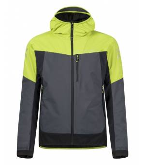 Montura Air Action Hybrid M Jacket piombo/verde lime bunda