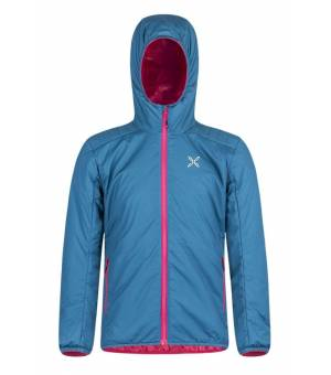 Montura 4 Season K Hoody Jacket blu ottanio/rosa sugar bunda