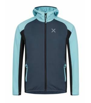 Montura Elevation Maglia K Jacket blu cenere/ice blue mikina