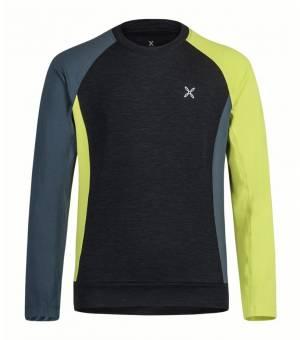 Montura Color K Maglia verde lime/blu cenere tričko