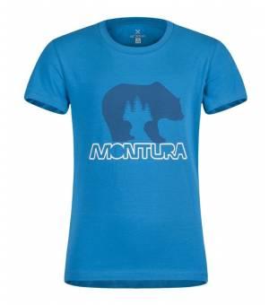 Montura Bear K T-Shirt turchese tričko