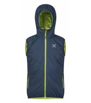 Montura 4 Season Hoody K Vest blu cenere/verde acido vesta