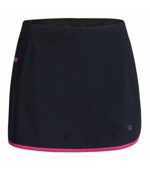 Montura Sensi Match W Skirt+Shorts nero/rosa sugar sukňa