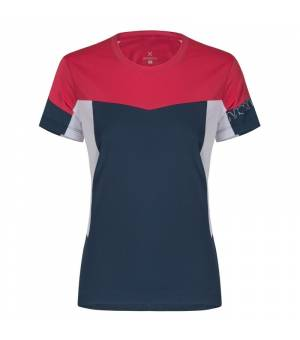 Montura Outdoor Mind W T-Shirt blu cenere/rosa sugar tričko