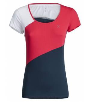Montura Outdoor Style W T-Shirt rosa sugar/blu cenere tričko