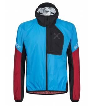 Montura Rain Safe 2.0 M Jacket turchese/rosso bunda