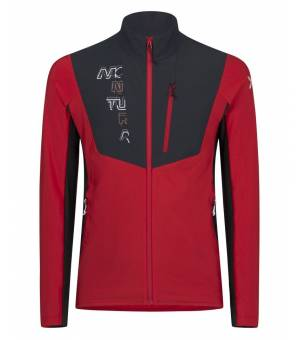 Montura Blend Line Maglia M Jacket rosso/antracite mikina