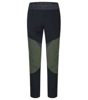 Montura Vertigo Tekno M Pants nero/verde acido nohavice