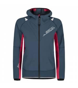 Montura Run Flash W Jacket blu cenere/rosa sugar bunda