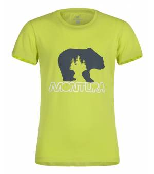 Montura Bear K T-Shirt verde lime tričko