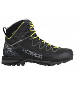 Montura Tre Cime Evo GTX M Shoes charcoal grey/acid green