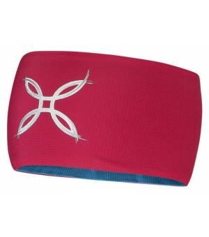 Montura Light Pro Band pink/dunkelpetrol čelenka