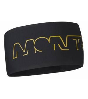Montura Walk Band black/gold čelenka