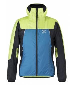 Montura Skisky 2.0 Jacket M octane blue/lime bunda