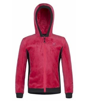 Montura Polar Stretch Hoody Jacket Kids pink mikina