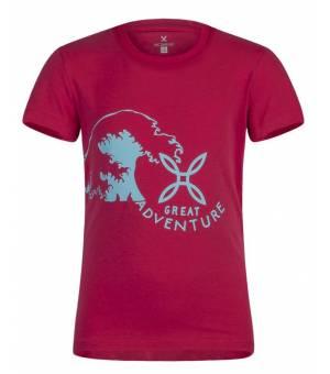 Montura Adventure K T-Shirt rosa sugar/ice blue tričko