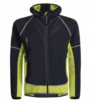 Montura Run Flash M Jacket antracite/verde lime bunda