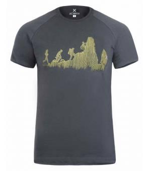 Montura Sporty M T-Shirt piombo tričko