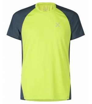 Montura Join M T-Shirt verde lime/blu cenere tričko