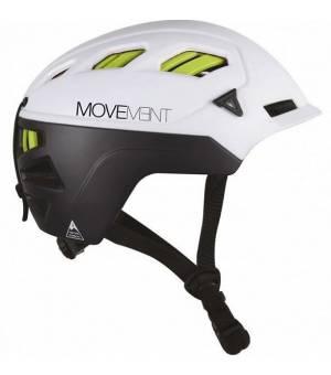 Movement 3 Tech Alpi Black/White/Fluo Green prilba 20/21