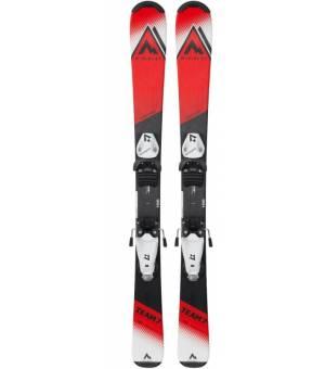 McKinley Team 7 130 - 140 cm Detské zjazdové lyže červené 21/22