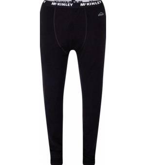 McKINLEY River M funčná bielizeň/nohavice čierne