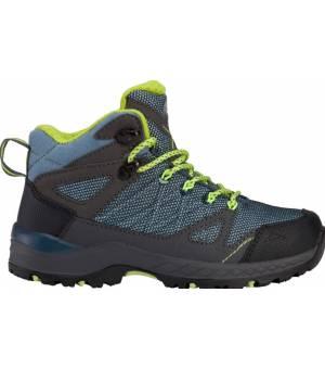 McKinley Kona Mid IV AQX Jr topánky modré