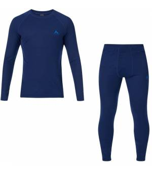 McKinley Yahto/Yaal M funkčná bielizeň modrá