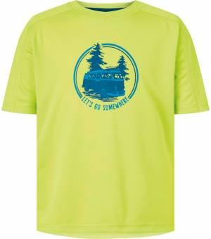 McKinley Corma JR detské tričko zelené
