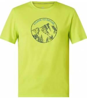McKinley Katty UX Light Green pánske tričko s krátkym rukávom
