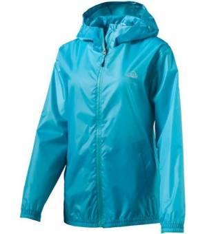 McKinley Litiri II Blue dámska bunda do dažďa