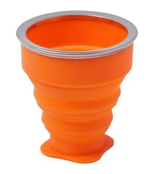 McKinley Cup Silicone Orange skladací pohár