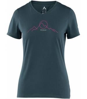 McKinley Mena W Dry Plus Eco tričko modré