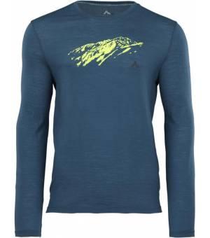 McKinley Hicks M tričko s dlhým rukávom modré