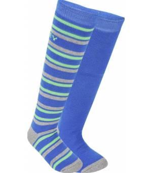 McKinley Rigo Jr lyžiarske ponožky modré