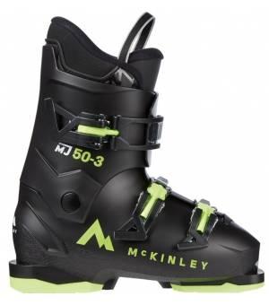 McKinley Detské Lyžiarky MJ50 - 3 čierne 21/22